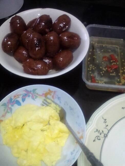 langonisa and egg