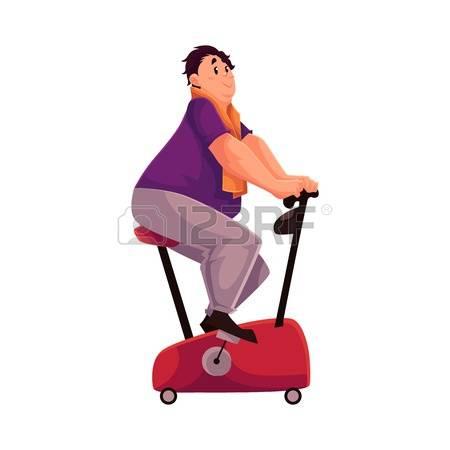 67829494-hombre-gordo-haciendo-ejercicios-en-bicicleta-ilustraci-n-vectorial-de-dibujos-animados-aislado-en-e